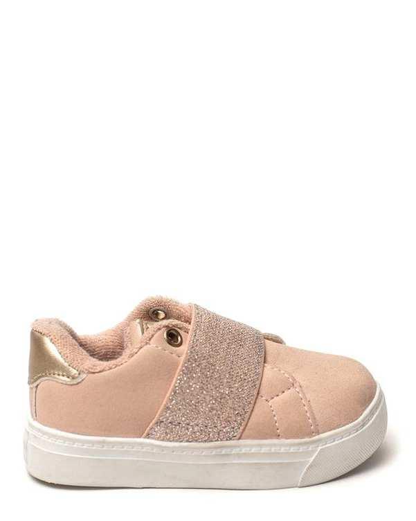 کفش دخترانه جیر کژوال هلویی Zippy