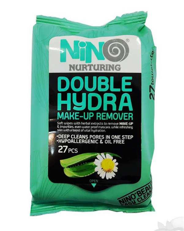 دستمال مرطوب مدل Double Hydra نینو بسته 27 عددی