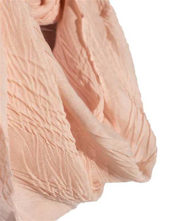 شال گردن زنانه هلویی Moodo