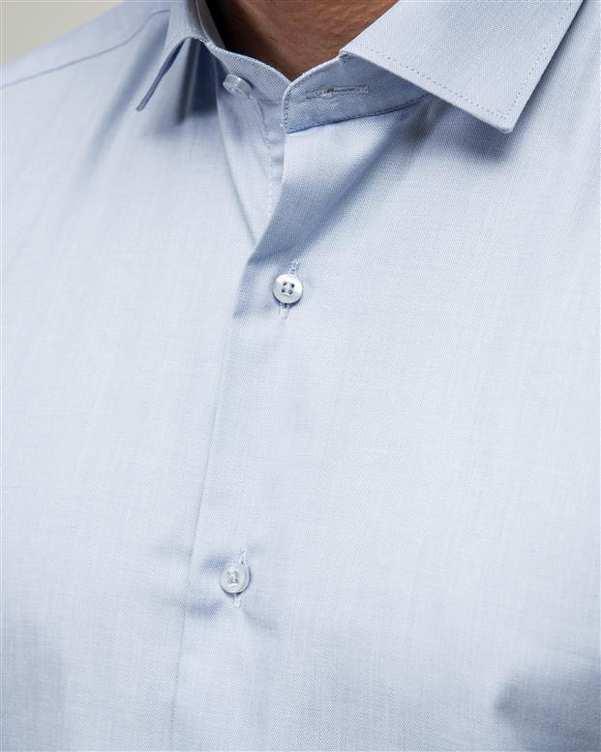 پیراهن مردانه آبی آسمانی ادموند