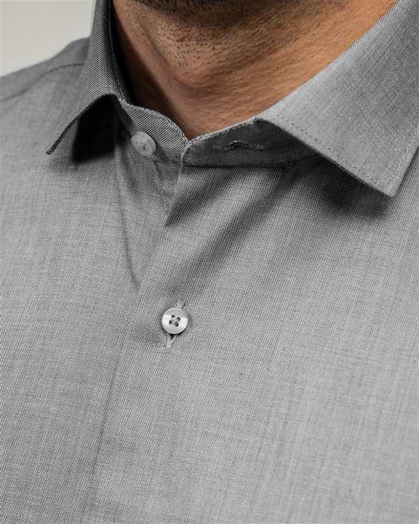پیراهن مردانه طوسی تیره ادموند