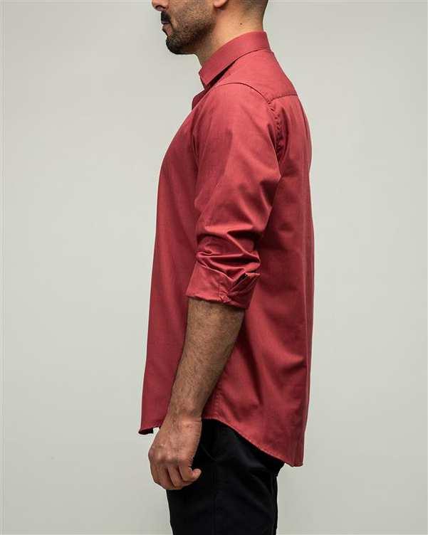 پیراهن مردانه قرمز ادموند