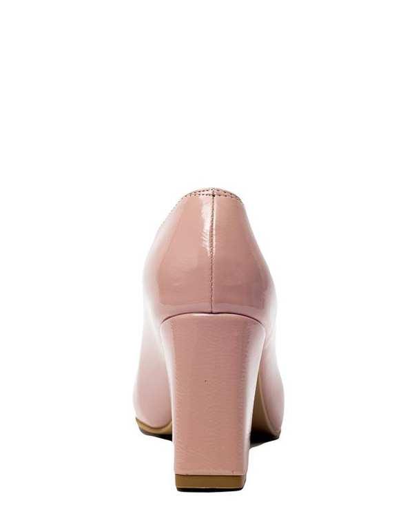 کفش زنانه پاشنه بلند ورنی کالباسی سورا