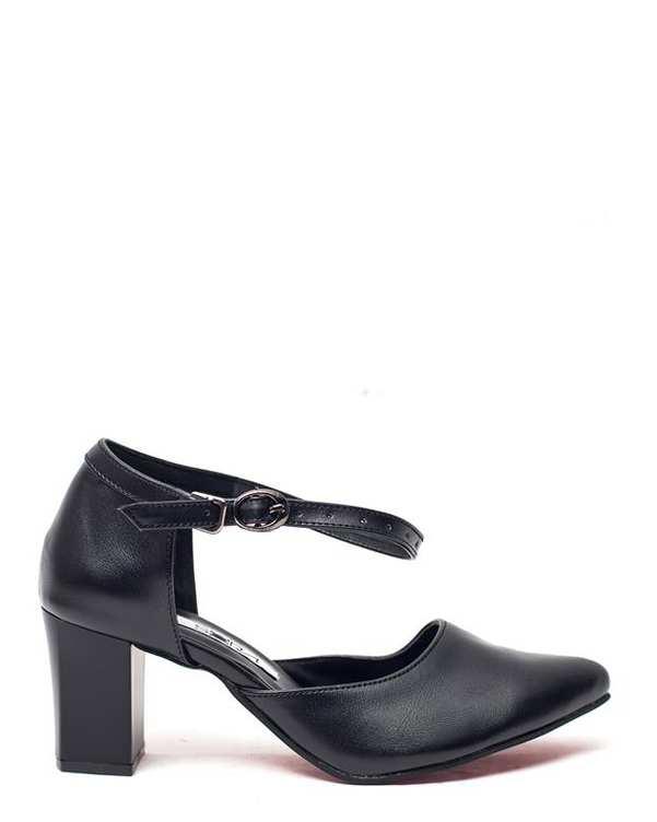 کفش زنانه پاشنه بلند مشکی سورا