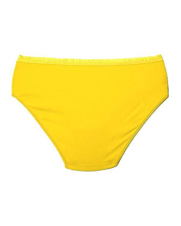 شورت زنانه گیپور زرد Ava