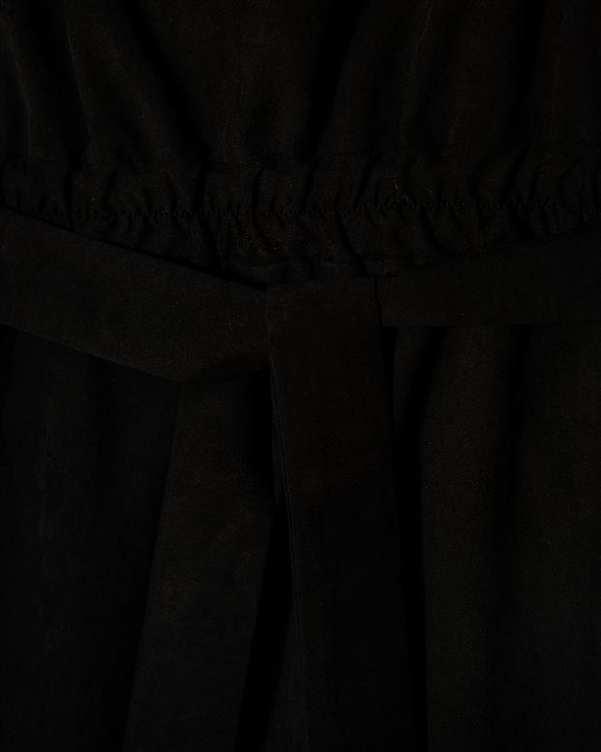 سرهمی زنانه یقه رومی مشکی ژینو