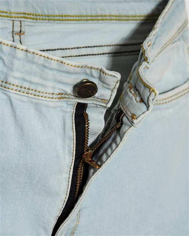 شلوار زنانه جین چسبان آبی روشن رویال جین