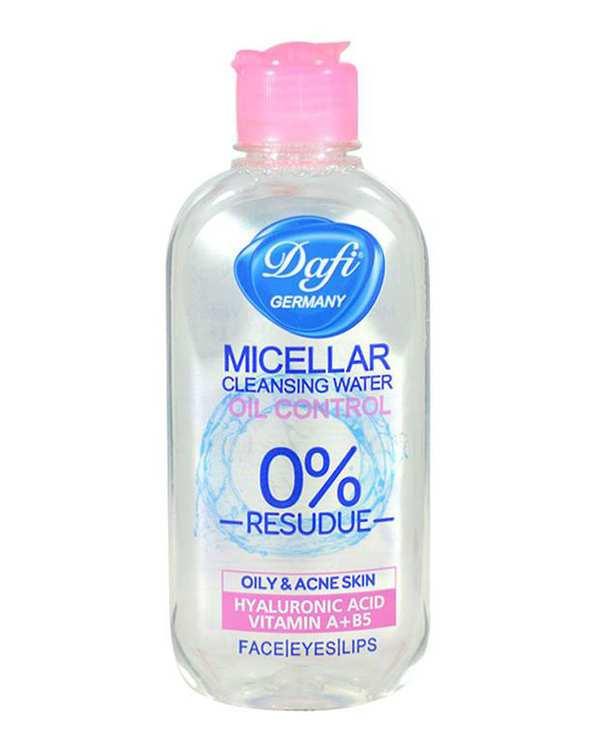 محلول پاک کننده آرایش پوست های چرب Oil Control 200ml دافی