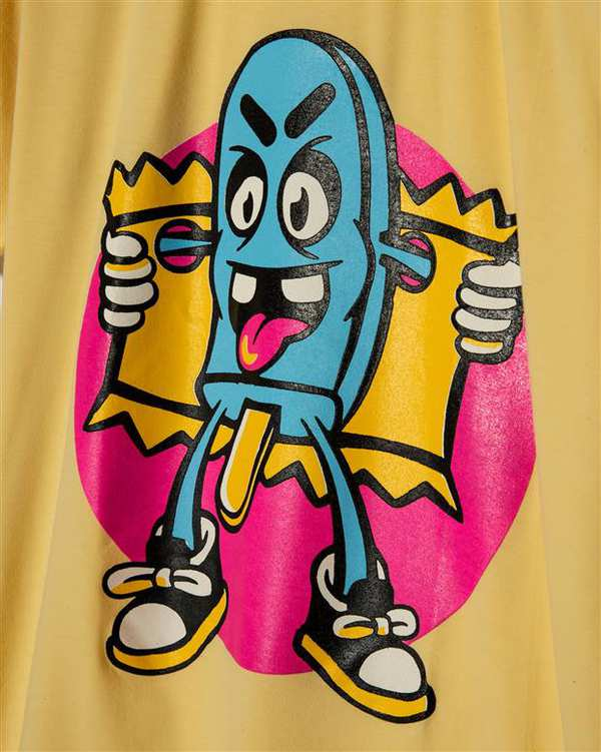 لباس راحتی زنانه کد ps1832-2 زرد طوسی پاتیک Pattik