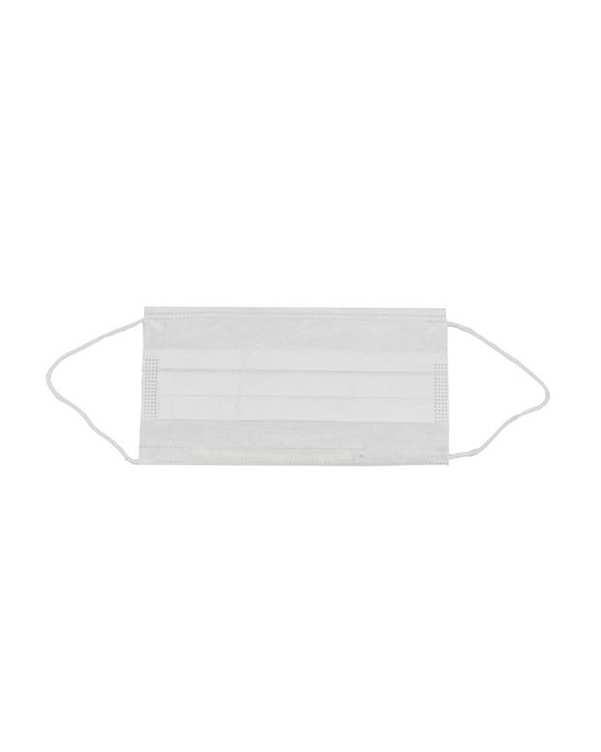 ماسک سفید سه لایه پرستاری بسته 25 عددی