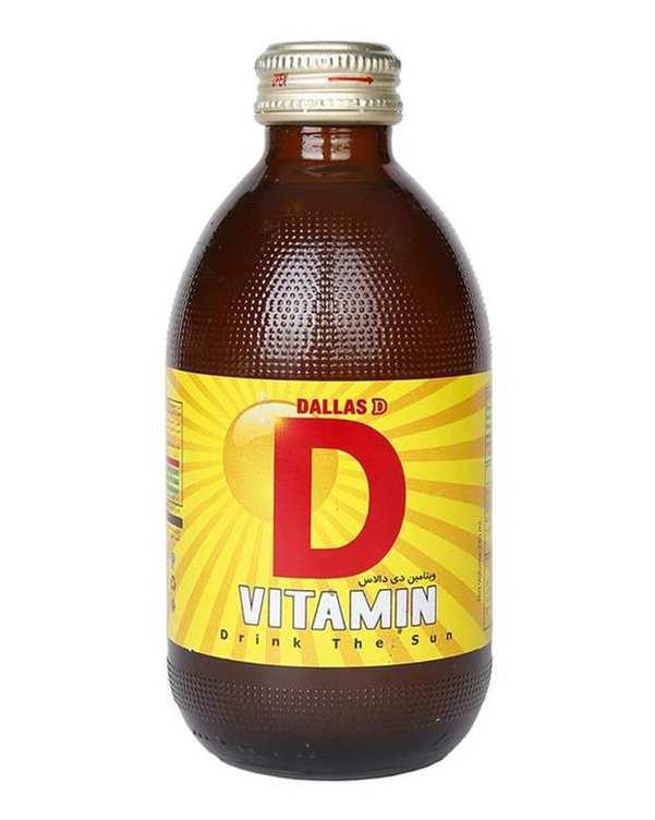 نوشابه انرژی زا ویتامین دی 240 میلیلیتری دالاس