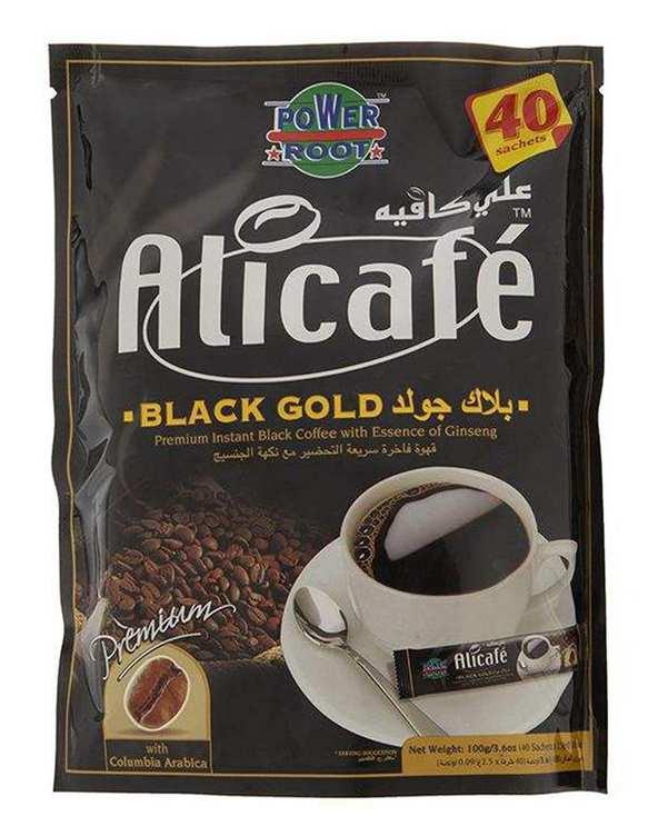 بسته 40 عددی کافی میکس Black Gold علی کافه Ali Cafe
