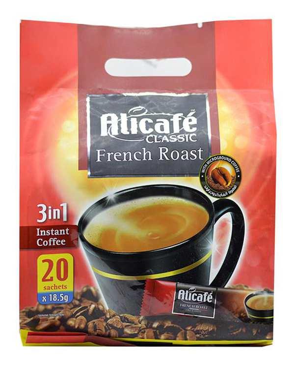 کافی میکس 1*3 فرنچ روست 20 عددی علی کافه