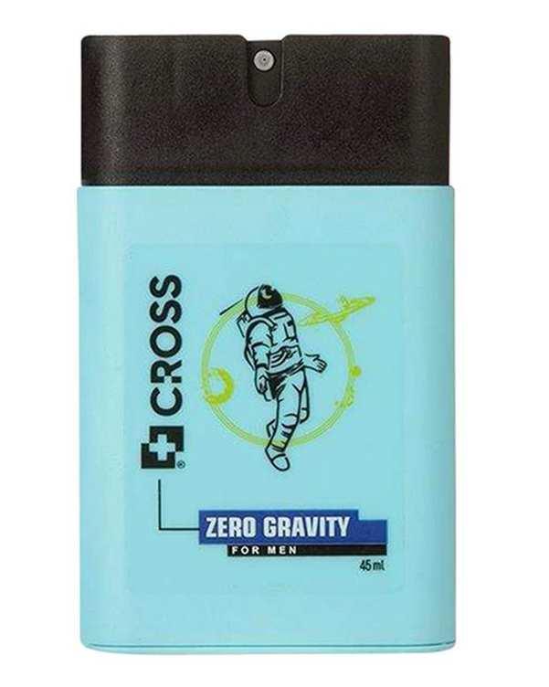 عطر جیبی مردانه 45ml Zero Graviti کراس