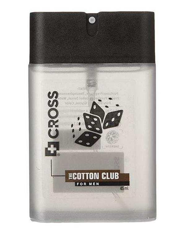 عطر جیبی مردانه 45ml Cotton Club کراس