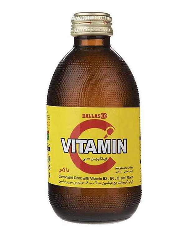 نوشیدنی ویتامین سی 240 میلی لیتری دالاس