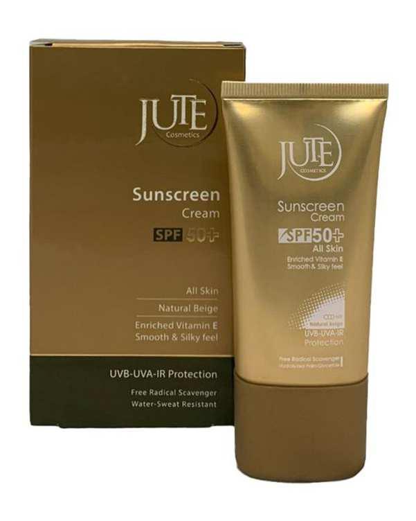 کرم ضد آفتاب فاقد چربی SPF50 بژ طبیعی 40ml ژوت
