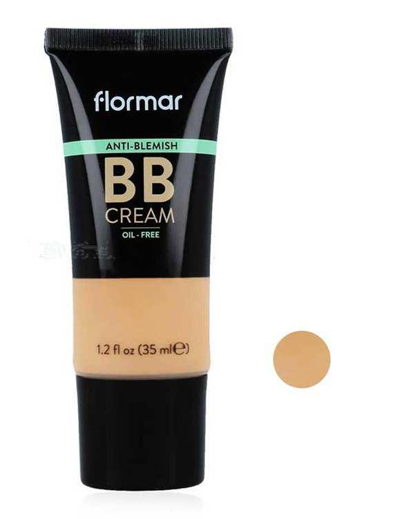 کرم پودر BB ضد جوش شماره AB02 حجم 35ml فلورمار