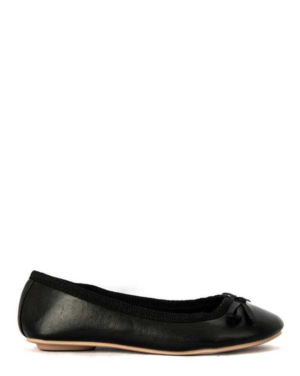 کفش دخترانه کژوال مشکی زیپی