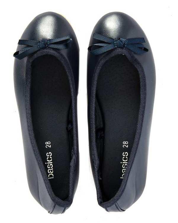 کفش دخترانه کژوال سرمه ای زیپی
