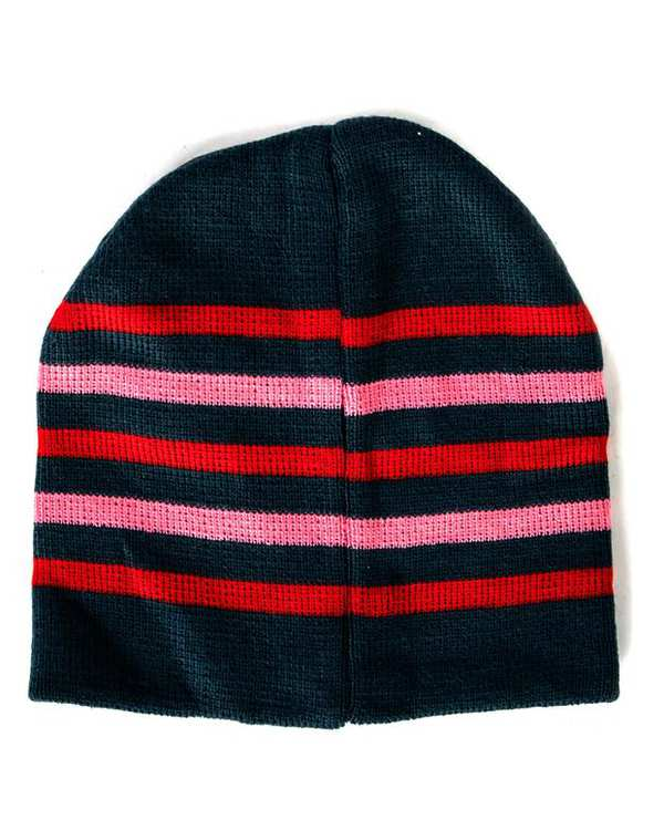 ست کلاه و دستکش دخترانه طرح مینی موس سرمه ای زیپی