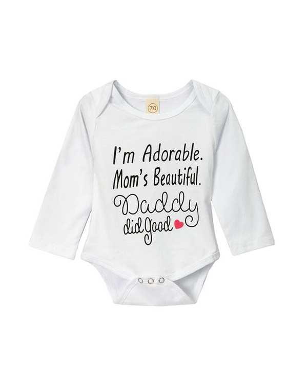 بادی دخترانه نوزادی نخی سفید بی