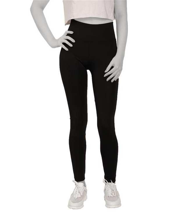 لگینگ زنانه ورزشی گن دار Slim Effect مدل 24004 مشکی آگی