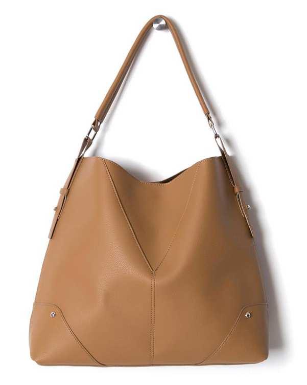 کیف زنانه دوشی نسکافه ای مو