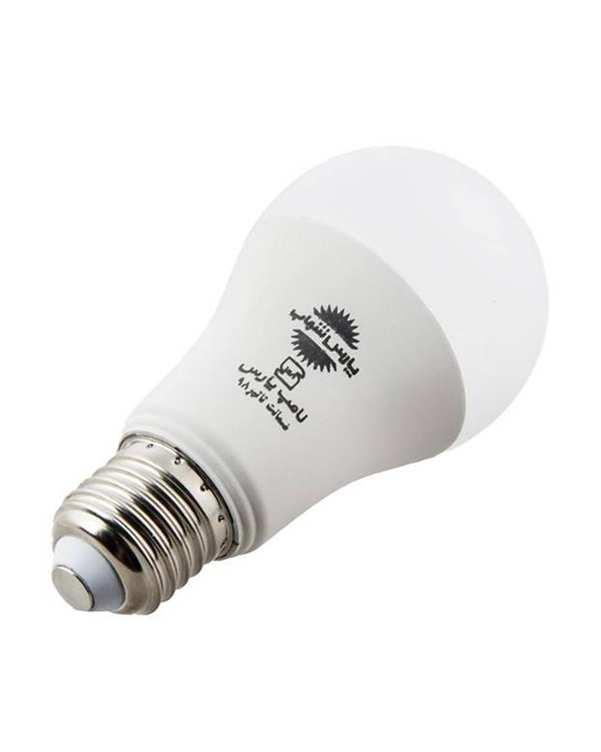 لامپ LED مدل حبابی A60 مات 9 وات آفتابی پارس شهاب