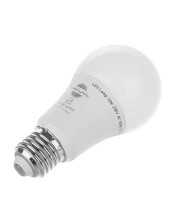 لامپ LED مدل حبابی A60 مات 12 وات مهتابی پارس شهاب