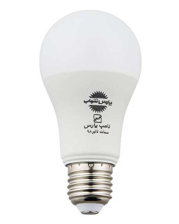 لامپ LED مدل حبابی A70 مات 15 وات آفتابی پارس شهاب