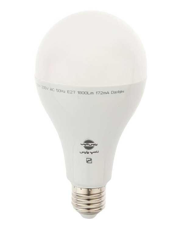 لامپ LED مدل حبابی A80 مات 20 وات مهتابی پارس شهاب
