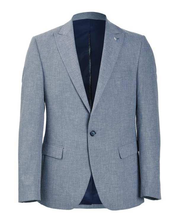 کت مردانه تک آبی باگوزا