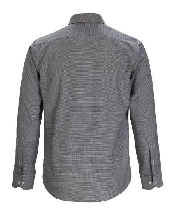 پیراهن مردانه مشکی سفید جیان فورت