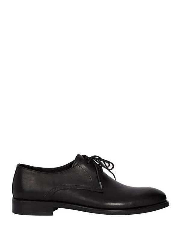 کفش چرم مردانه رسمی مشکی ارمنگیلدو زگنا
