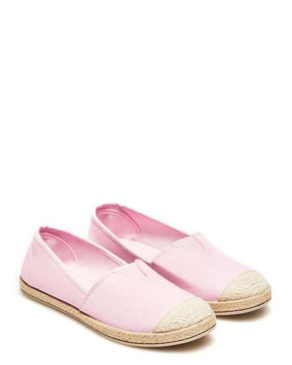 کفش زنانه تخت صورتی مودو