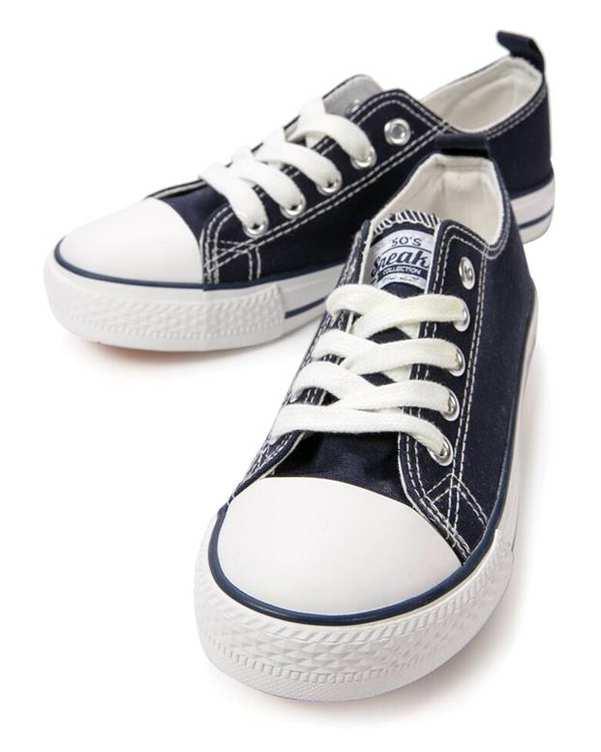 کفش بچگانه کژوال سرمه ای زیپی