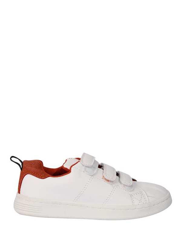 کفش بچگانه کژوال سفید زیپی