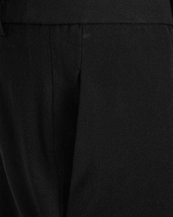 شلوار زنانه سایز بزرگ پارچه ای راسته مشکی استلا