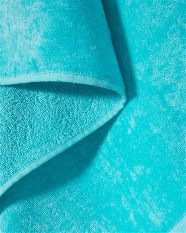 حوله حمام سایز 160*90 آبی مو