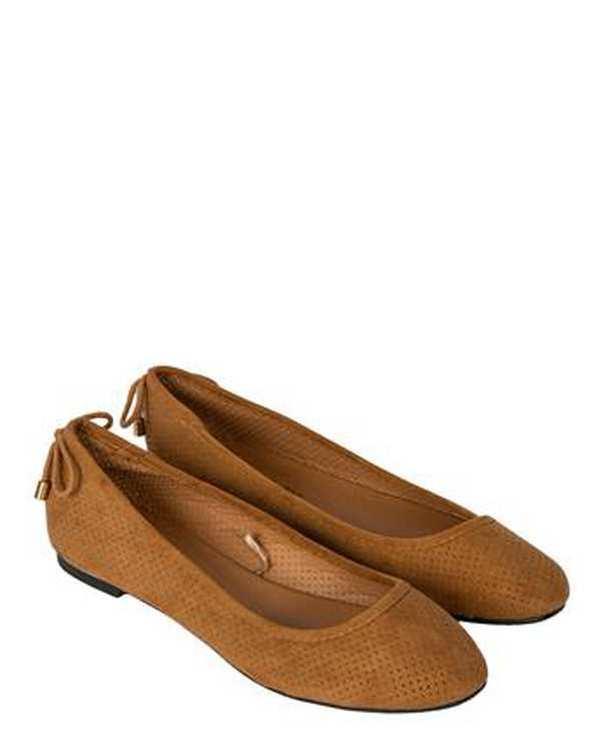 کفش زنانه تخت عسلی مو
