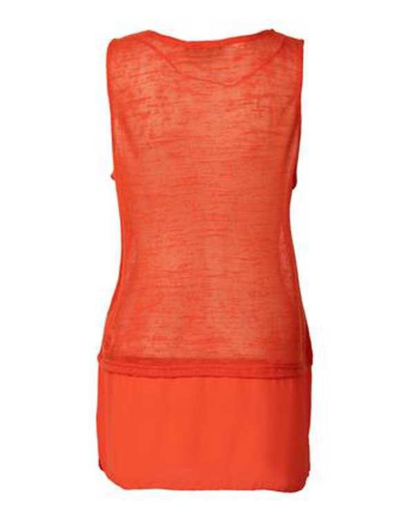 تاپ زنانه نارنجی مو