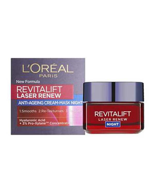کرم ضد چروک شب Revitalift Laser Renew 50ml لورآل