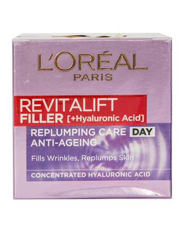کرم ضد چروک روز Revitalift Filler 50ml لورآل