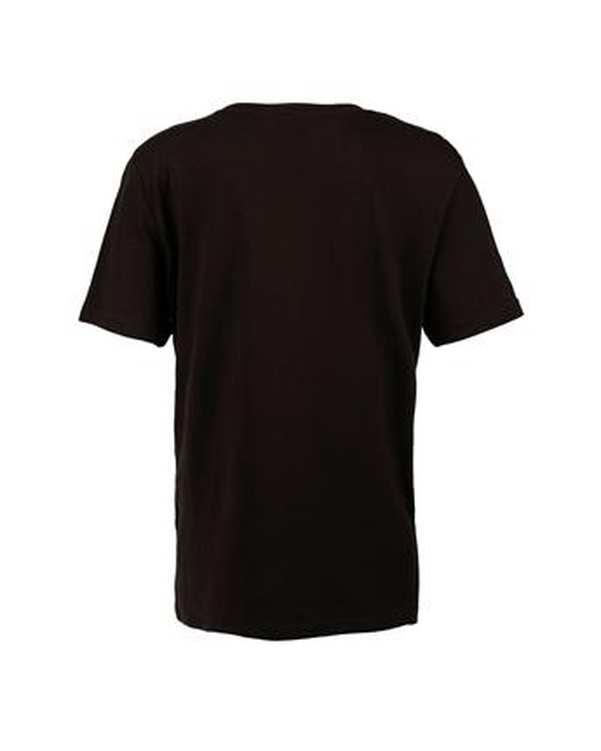 تی شرت پسرانه نخی یقه گرد مشکی اچ اند ام