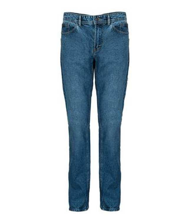 شلوار مردانه جین راسته آبی لیوایز