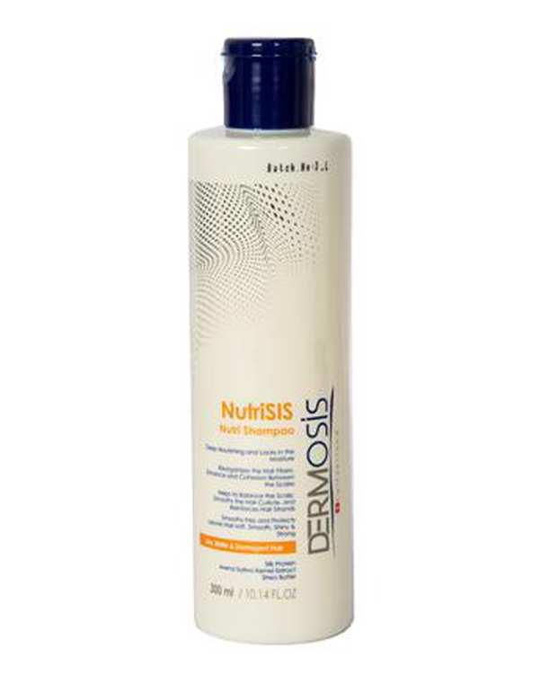شامپو موهای خشک و آسیب دیده NutriSIS درموسیس