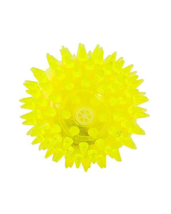 اسباب بازی سگ و گر به چراغ دار سبز Latex Dog Ball