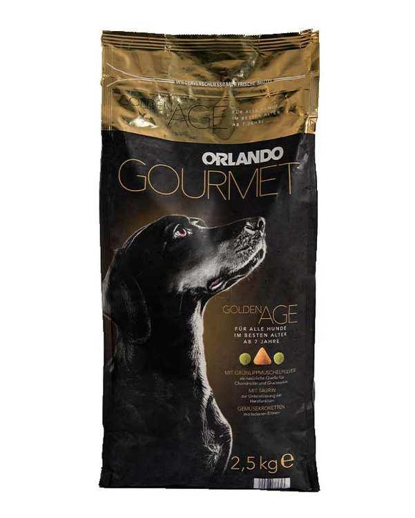 غذای خشک سگ مسن مدل 2.5kgr Golden Age اورلاندو