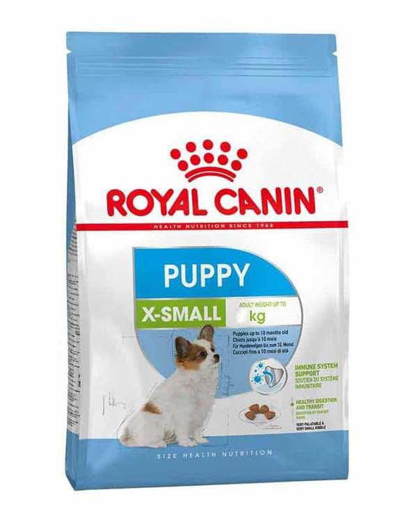 غذای خشک توله سگ مدل 1.5kgr X-Small Puppy رویال کنین